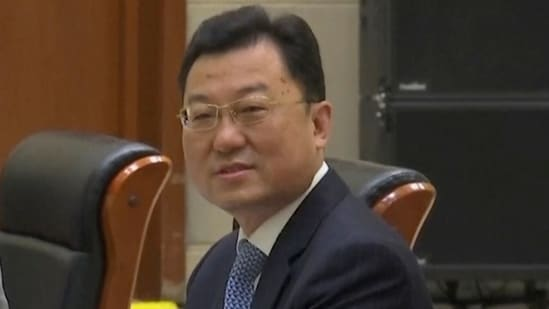 """Xie Feng handed down a """"List of US Wrongdoings that Must Stop"""" and a """"List of Key Individual Cases that China Has Concerns"""".(AP)"""