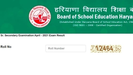 BSEH Haryana board 12th results 2021: Students who have registered for the exam can check their result on the official website of BSEH at bseh.org.in.(bseh)