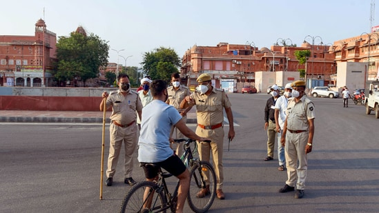 The accused, Vikram Vishnoi and Somdutt, both residents of Haryana and Punjab, respectively, were held. Image used for representational purpose only.(PTI)