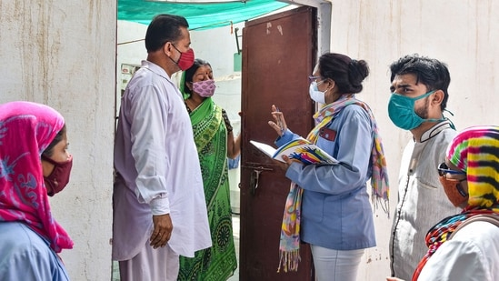 The survey came just after the peak second wave of the pandemic and as several states eased Covid restrictions. (PTI Photo)