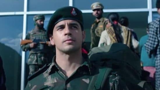 Sidharth Malhotra plays Captain Vikram Batra in Shershaah.