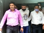 Raj Kundra was arrested last week on charges related to the alleged production of pornographic films. (HT File Photo)