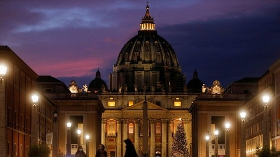 To accommodate the largest criminal trial in the Vatican's modern history, the hearings are being held in a large hall converted into a courtroom in the Vatican Museums.(REUTERS)