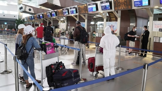 Several countries have announced new bans or restrictions on travelers from Indonesia, including neighboring Singapore and the Philippines.(Bloomberg)