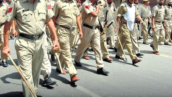 Punjab Police recruitment 2021: The registration process for the Punjab Police recruitment began on July 26, 2021. Candidates can apply online through the official site of Punjab Police on punjabpolice.gov.in.(File)