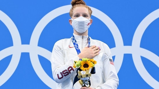 Olympics: Doing It For The A- Alaska's first Olympic swimmer Lydia Jacoby wins gold.(AFP)