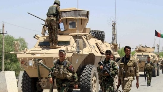 Afghan forces managed to take control of the Kaldar district from the Taliban after launching a military operation. (File Photo)