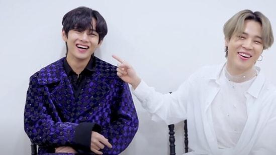 BTS singers Jimin and V fought over dumplings.