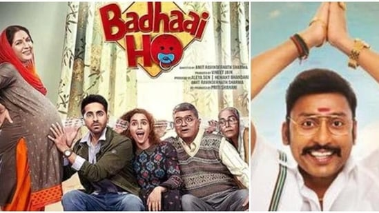 In Badhaai Ho's Tamil remake, while Balaji will slip into Ayushmann Khurrana's role, Sathyaraj and Urvashi will be seen in Gajraj Rao and Neena Gupta's roles.
