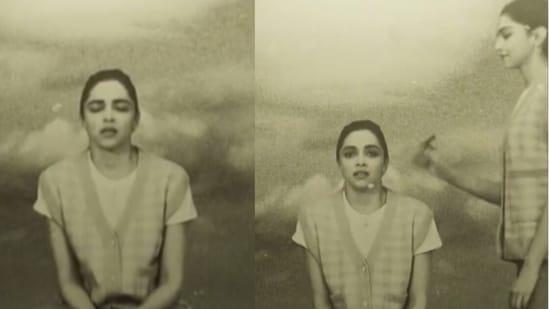 Deepika Padukone shares a spooky video.