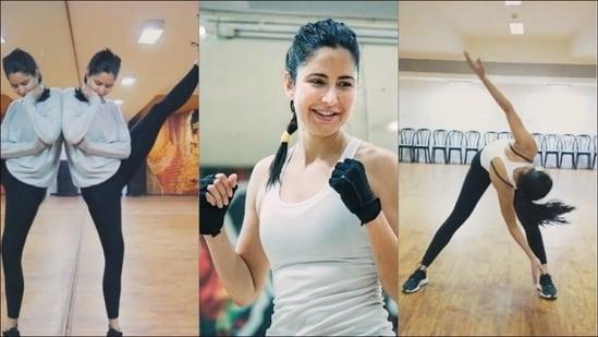 Katrina Kaif works like a beast to be her fittest best for Salman Khan's Tiger 3(Instagram/katrinakaif)