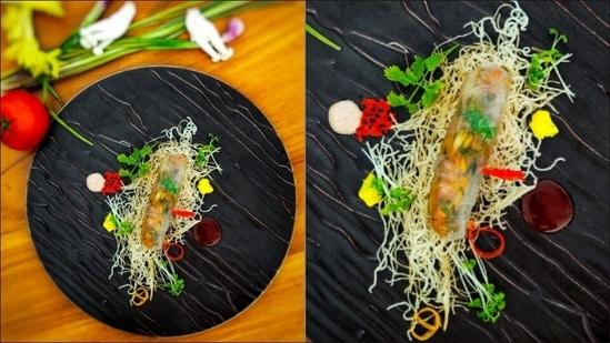 Recipe: If you think plant-based dishes are boring, let Vegan Tofu Cigar change your opinion(Khemraj Bhatt, Executive Sous Chef, Oblu Select At Sangeli, Maldives)