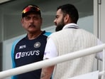 India's head coach Ravi Shastri's(L) re-appointment as India head coach in 2019 was not a surprise by any means. (AP)