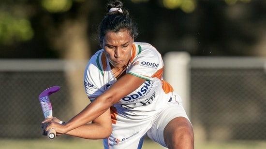 """Rani Rampal revealed how she would play with broken sticks and usual clothes rather than proper hockey gear, """"So, I began practicing with a broken hockey stick–I used to run around in a salwar kameez. But I was determined; maine bahut mushkil se convince kiya coach ko! """" (Instagram)"""