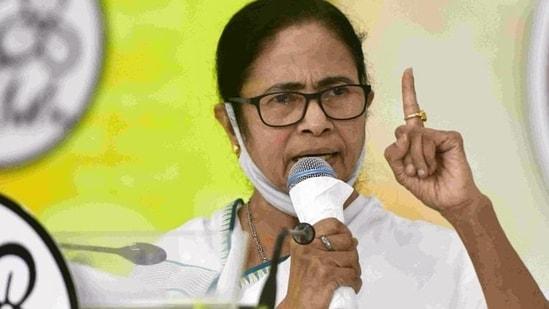 File image of West Bengal CM and TMC supremo Mamata Banerjee. (PTI)