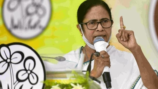 West Bengal CM Mamata Banerjee in Kolkata. (PTI)