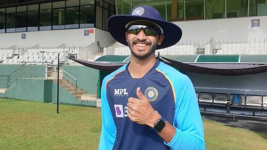 Devdutt Padikkal earned his India cap on Wednesday. (BCCI)