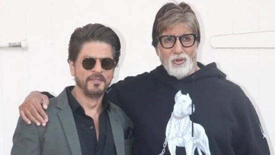 Shah Rukh Khan produced the Amitabh Bachchan-starrer Badla.