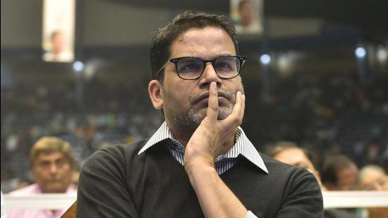 Poll strategist Prashant Kishor's I-PAC team was in Tripura to assess the possibility of the Trinamool Congress expanding its base in the state. (Samir Jana/HT Photo)