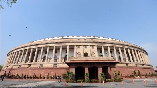 A view of Parliament. (Sonu Mehta/HT PHOTO)