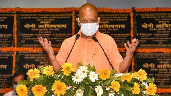 Uttar Pradesh chief minister Yogi Adityanath. (PTI)