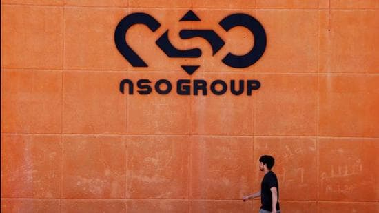 One of the branch offices of Israeli cyber firm NSO Group in the Arava Desert, southern Israel. (File photo)