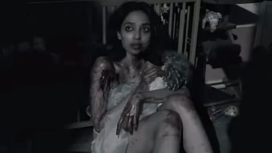 Sobhita Dhulipala in a still from Anurag Kashyap's short film in Netflix's Ghost Stories.
