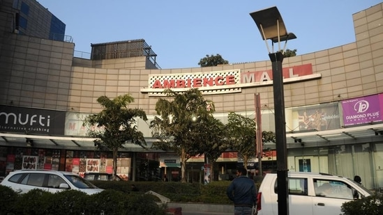 The Ambience Mall was constructed in South Delhi's Vasant Kunj in 2007.(Parveen Kumar/HT Photo)