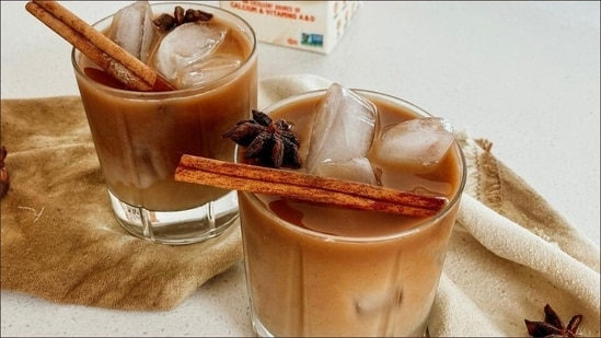 Recipe: Easily distracted by tea? Try this non-dairy iced dirty chai(Instagram/broccyourbody)