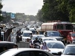 A recent National Emissions Inventory (NEI) report had revealed that automobile emissions contribute to 91 per cent of Pune's air pollution. (HT Photo)