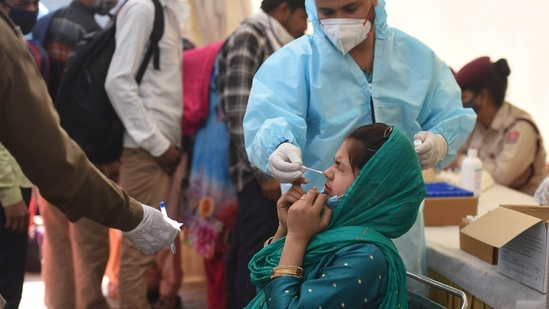 The new phase of universalisation of vaccination commenced from June 21.(Photo by Raj K Raj/ Hindustan Times)
