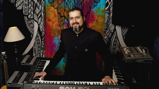 In the years since Ricky Kej won the 2014 Grammy for Best New Age Album, he's been trying to top that feat while maintaining a hectic touring schedule. (Image courtesy Ricky Kej)