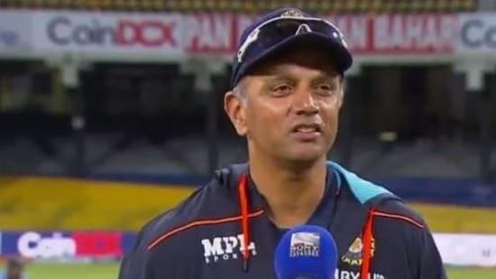 India coach for Sri Lanka tour, Rahul Dravid