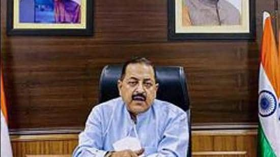 Union minister for state for the department of space Jitendra Singh. (File photo)