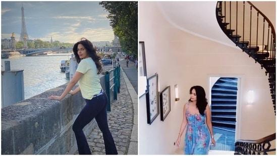 Mallika Sherawat is currently in Paris.