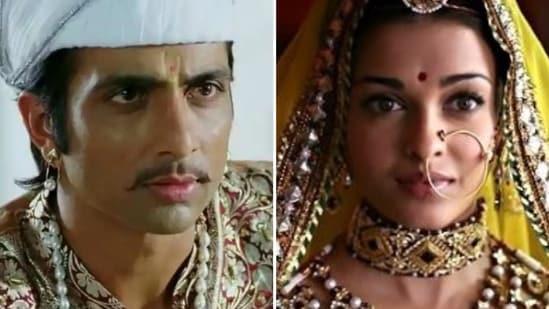 Sonu Sood played Aishwarya Rai's brother in Jodhaa Akbar.