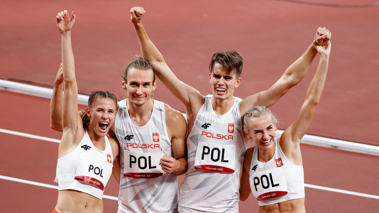 Olympics: Poland win first 4x400m mixed relay gold ...