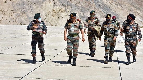 On July 2, chief of defence staff General Bipin Rawat said the Indian armed forces should stay prepared for any misadventure by the Chinese forces and respond as needed. (ANI Photo)