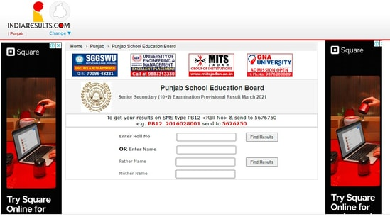 PSEB class 12 students can check their results on the official website at pseb.ac.in(pseb.ac.in)