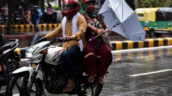 Though Safdarjung station recorded 507.1mm rain, Aya Nagar weather station received 295.7 mm rainfall. (ANI)