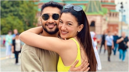 Gauahar Khan and Zaid Darbar went to Russia for their honeymoon.(Instagram/@gauaharkhan)