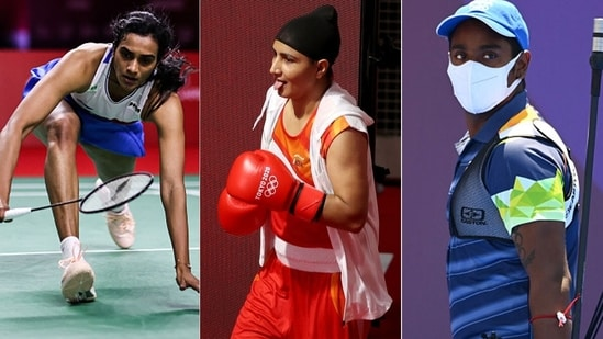 PV Sindhu, Pooja Rani and Atanu Das came up a little short. (Getty Images)