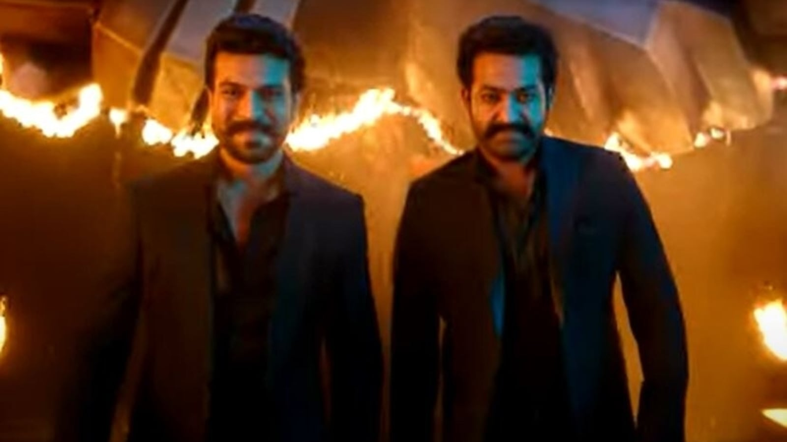 RRR Dosti song: Makers unveil special music video to celebrate Friendship Day, features Ram Charan and Jr NTR - Hindustan Times