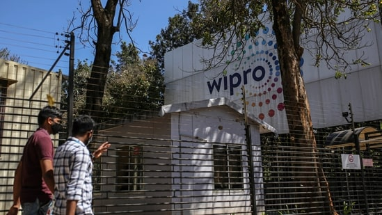 Wipro does not give a full-year forecast.(Bloomberg)