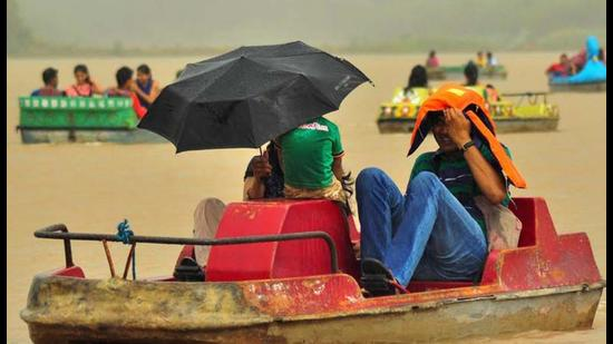 Chandigarh witnessed an early onset of monsoon on June 13, though it remained subdued thereon.