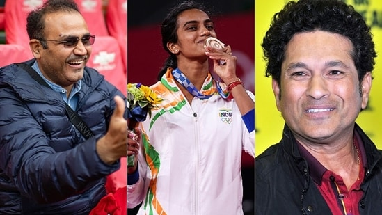 Former and cricketers were over the moon with PV Sindhu's achievement. (Getty Images)