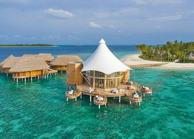 Hotels like Nautilus in the Maldives are small enough to keep you isolated and safe