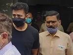 The property cell of the Mumbai crime branch arrested Raj Kundra on July 19 in connection with alleged creation of pornographic content.(PTI File Photo)