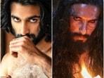Meezaan doubled for Ranveer Singh on Padmaavat.