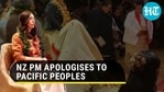 New Zealand PM Jacinda Ardern issued 'wholehearted' apology to Pacific community for 'dawn raids' (Agencies)